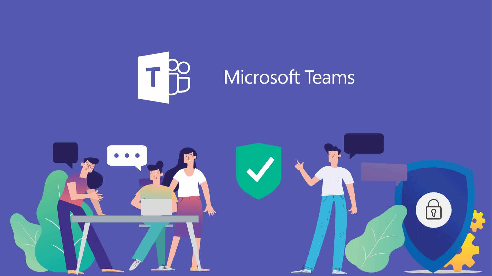 illustrazione teams di microsoft